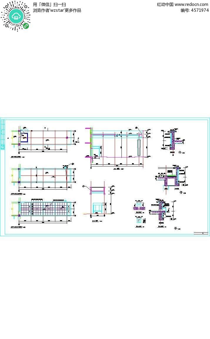 楼房建筑3d设计图图纸