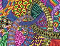 色彩构成装饰