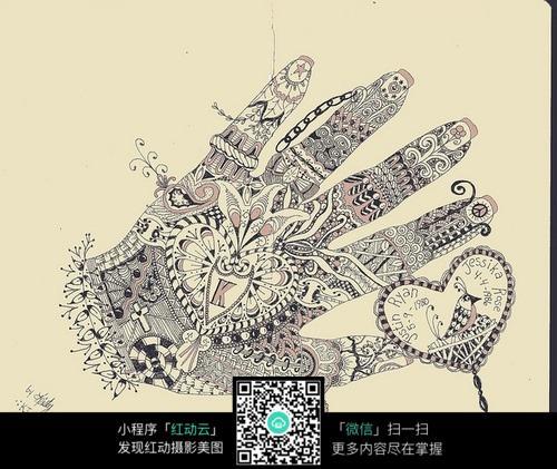 手绘创意设计图图片免费下载 编号5136960 红动网