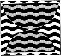 水纹平面构成图案