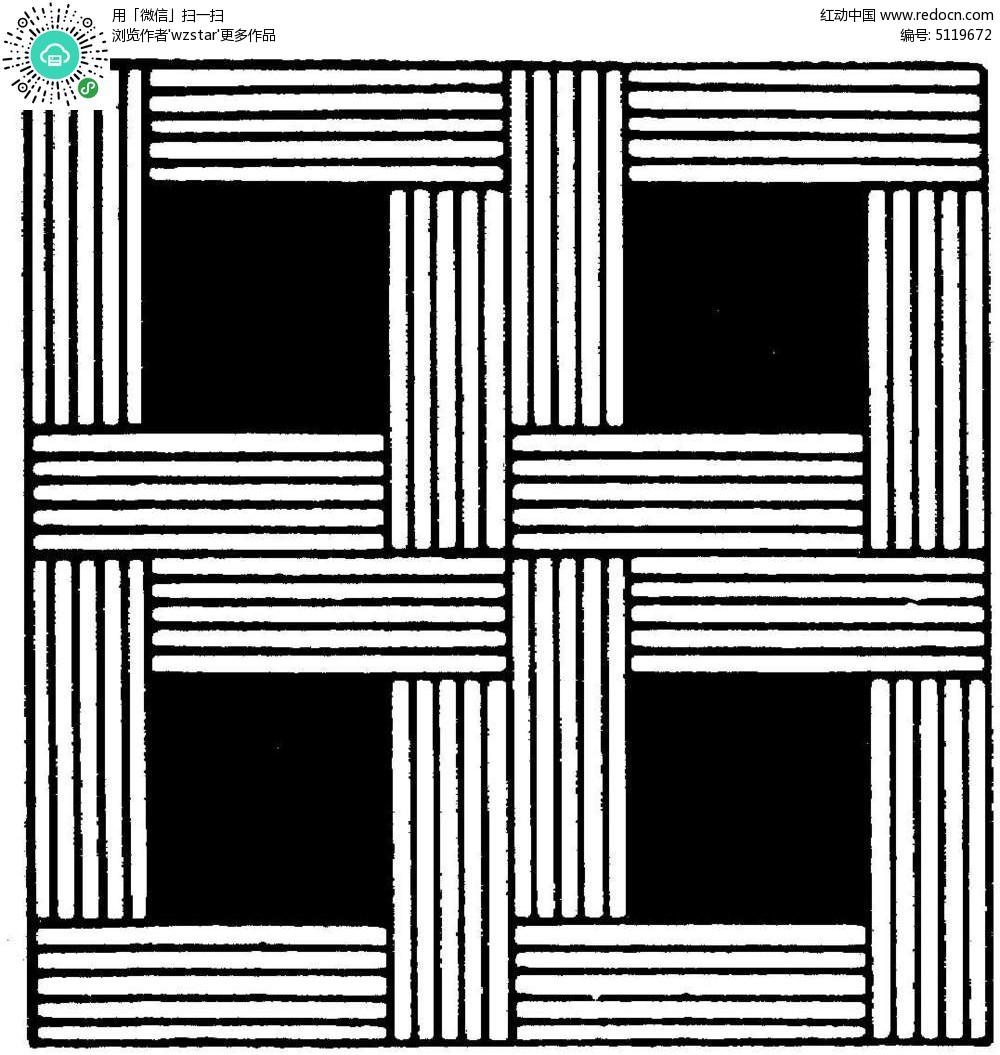 正方形可以画那些图案