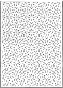 装饰几何线条花纹
