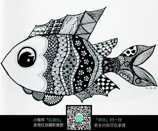 大头鱼创意手绘插画设计