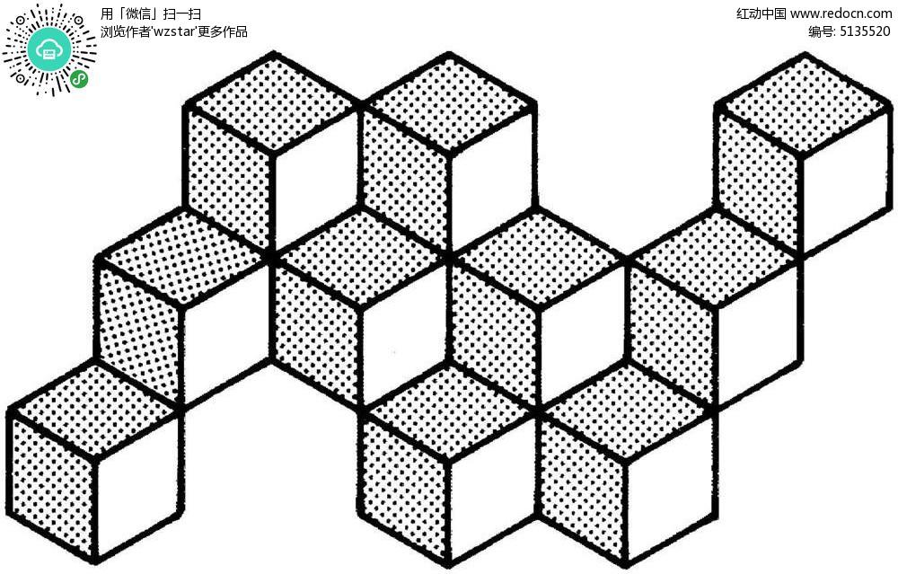 立体构成线的设计图展示图片