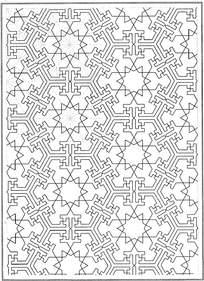 复古八角形拼花