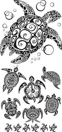 《各种乌龟手绘插画设计》,已经被下载 1 次