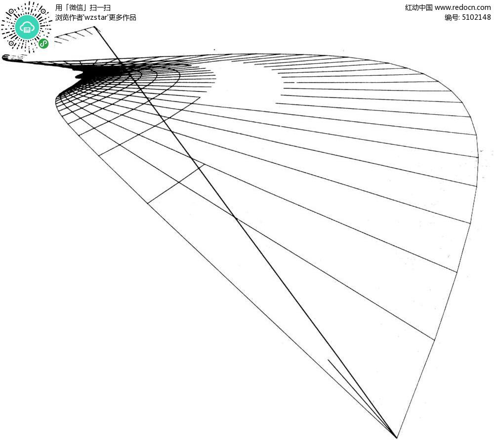 弧形线条 立体网纹 立体波纹网格 黑白线条网格 起伏网格 tif图片