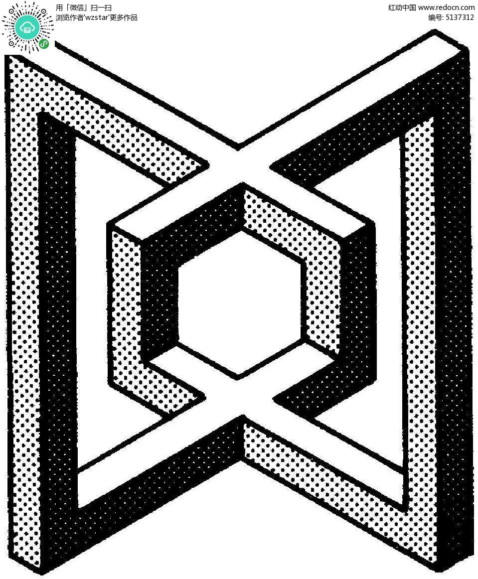 空间立体形状图形图片