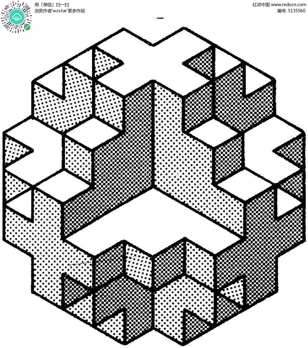 立体积木形状图形图片