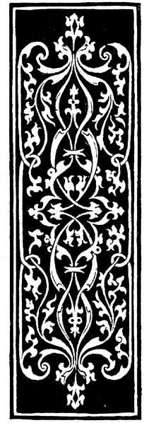 欧式长条古典花纹