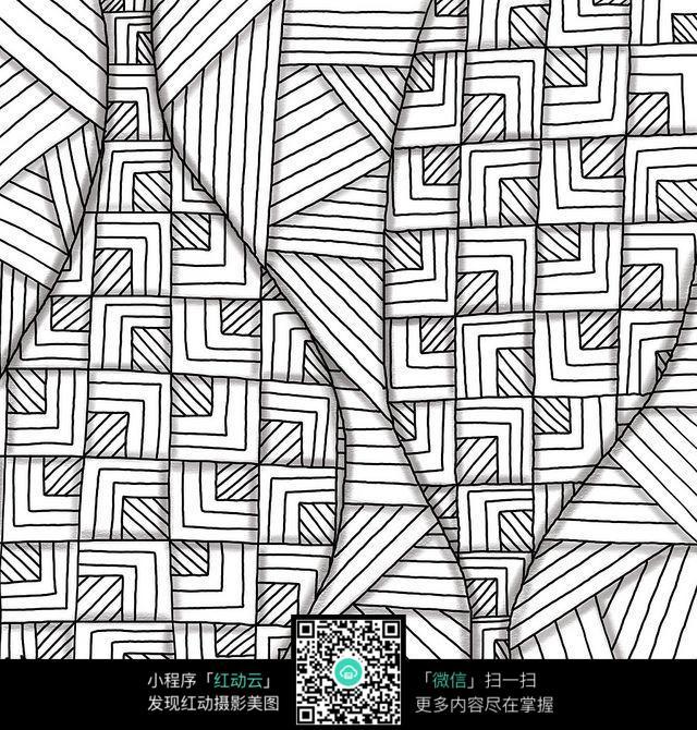 倒映 线条 图形