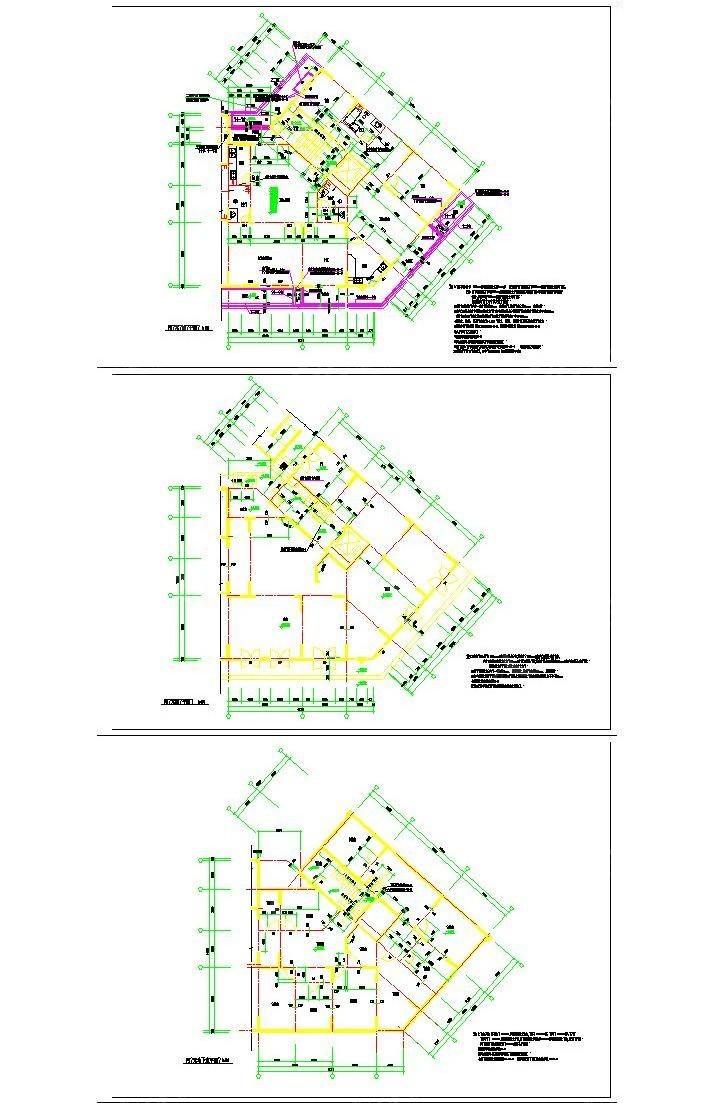 商场建筑规划图纸3d设计