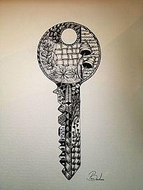 钥匙的图案花纹