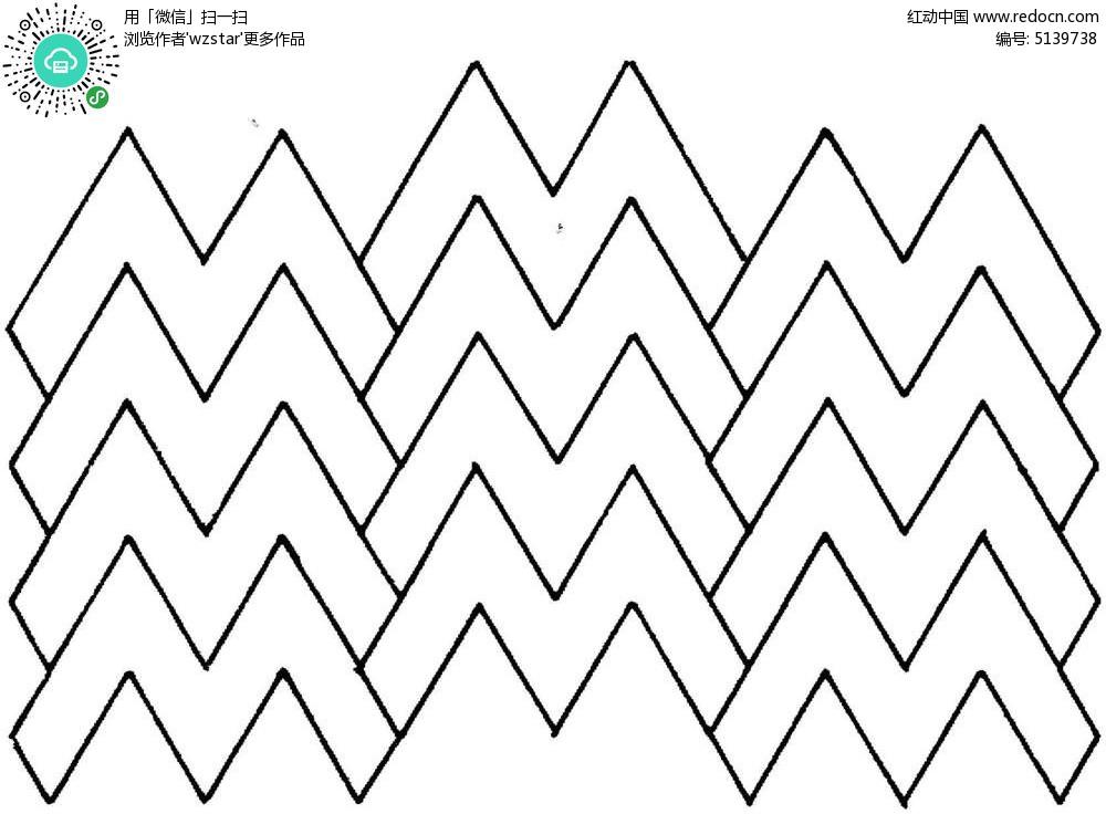组合折线图案