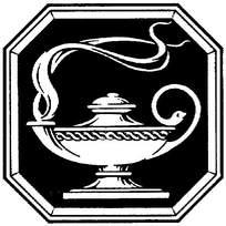 阿拉丁神灯黑白插图