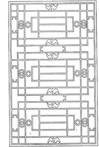 古典中式门窗花纹图片