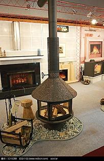 室内火炉图片