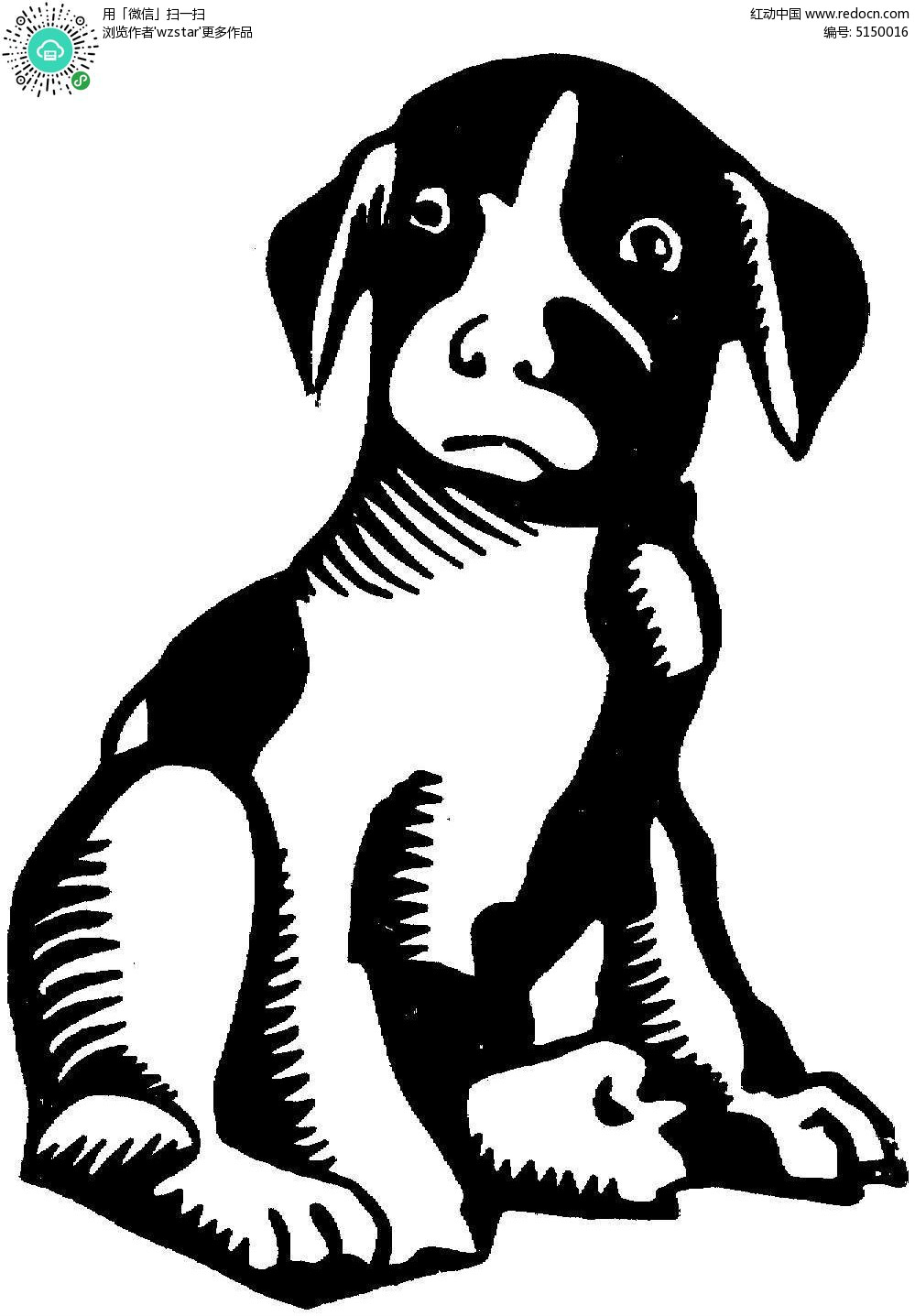 黑白 雕刻参考图 石雕 扫描 打印稿 手绘 插画 插图设计