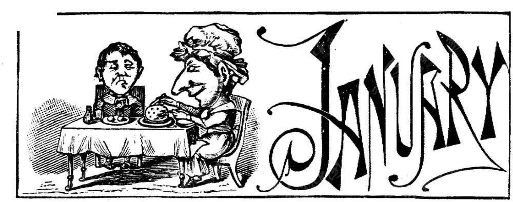 欧式复古插画