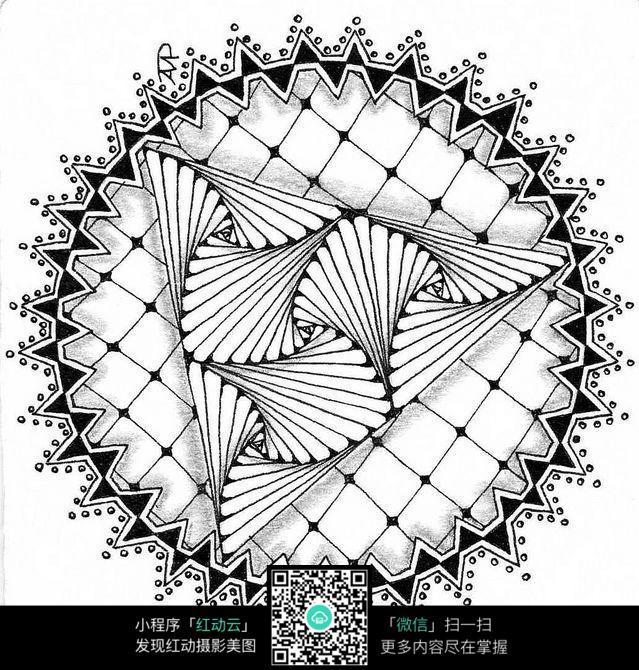 圆展示空间设计手绘