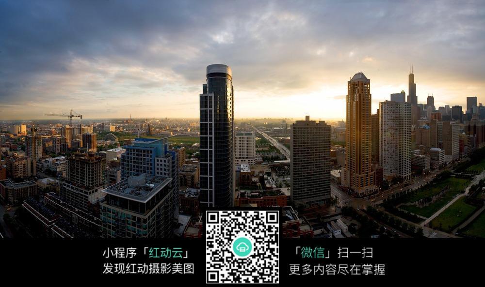 城市高楼大厦摄影图片素材