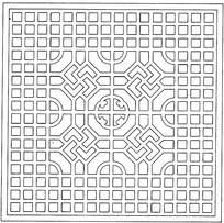 传统镂空装饰图案