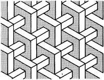 方形长条立体图形