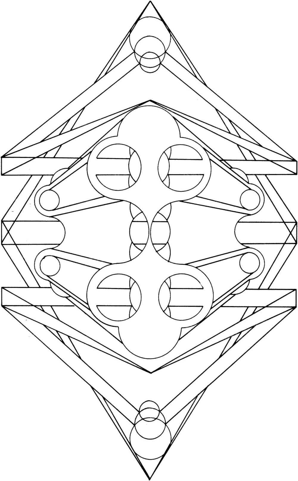 复杂的手绘封面