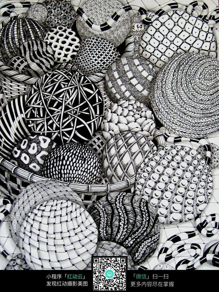 花球的设计图案