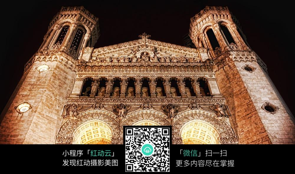 欧式复古宫殿外观
