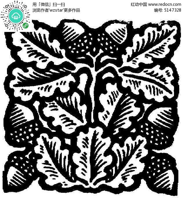 树叶雕画-叶子雕刻参考图TIF素材免费下载 编号5147328 红动网