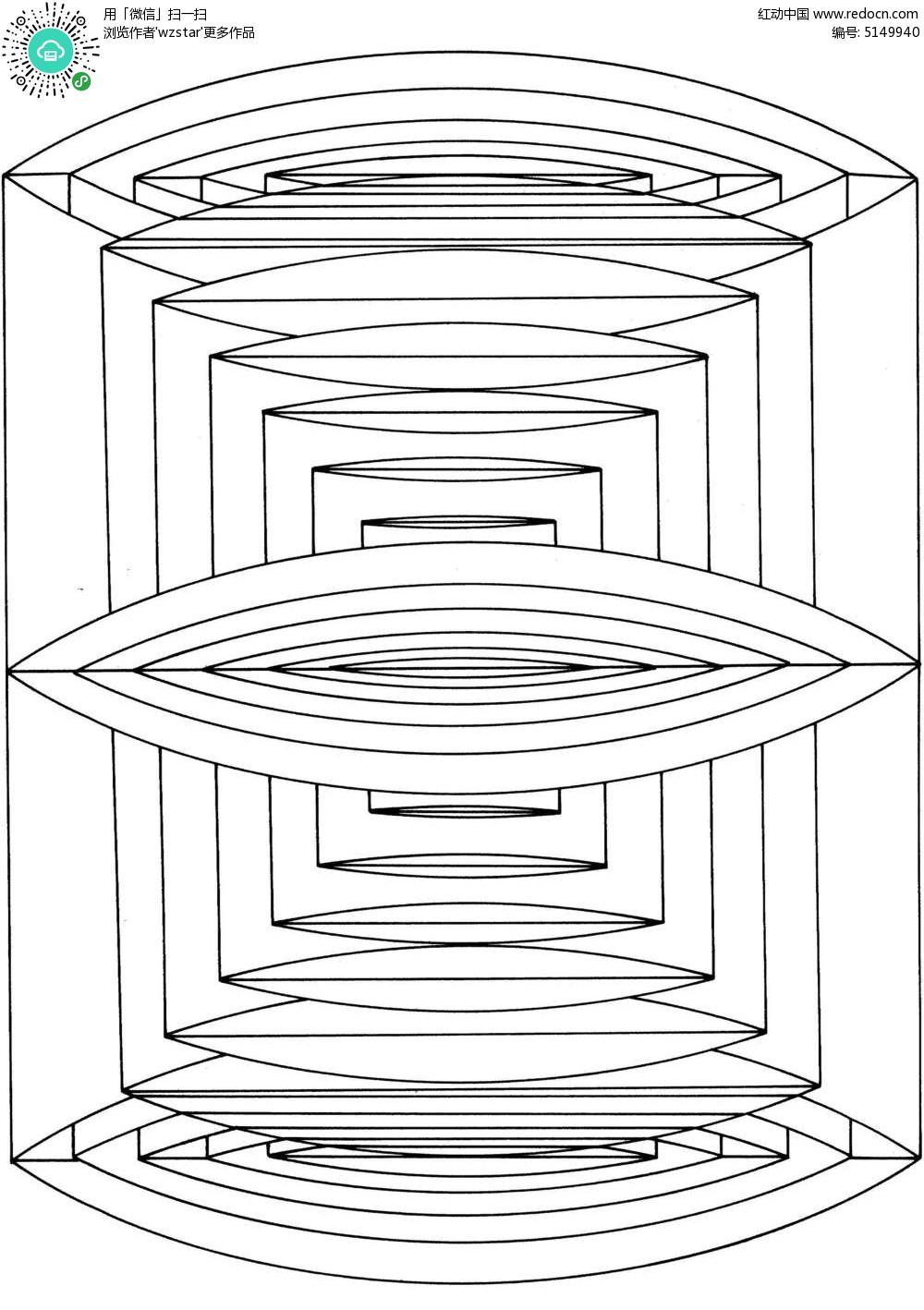 圆柱横截面图形TIF素材免费下载 编号5149940 红动网图片