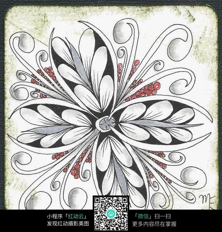 花朵的创意设计