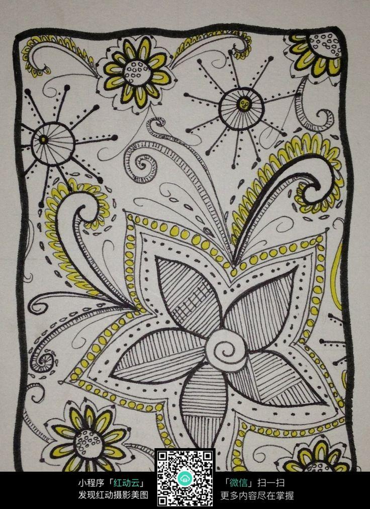 花朵图案装饰图片