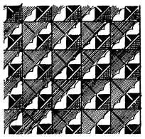 简单对称几何图形花纹花边素材