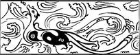 神鹿镂空花边参考图