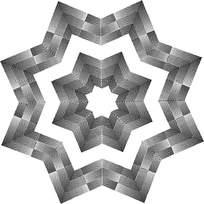 八角形阴影花纹