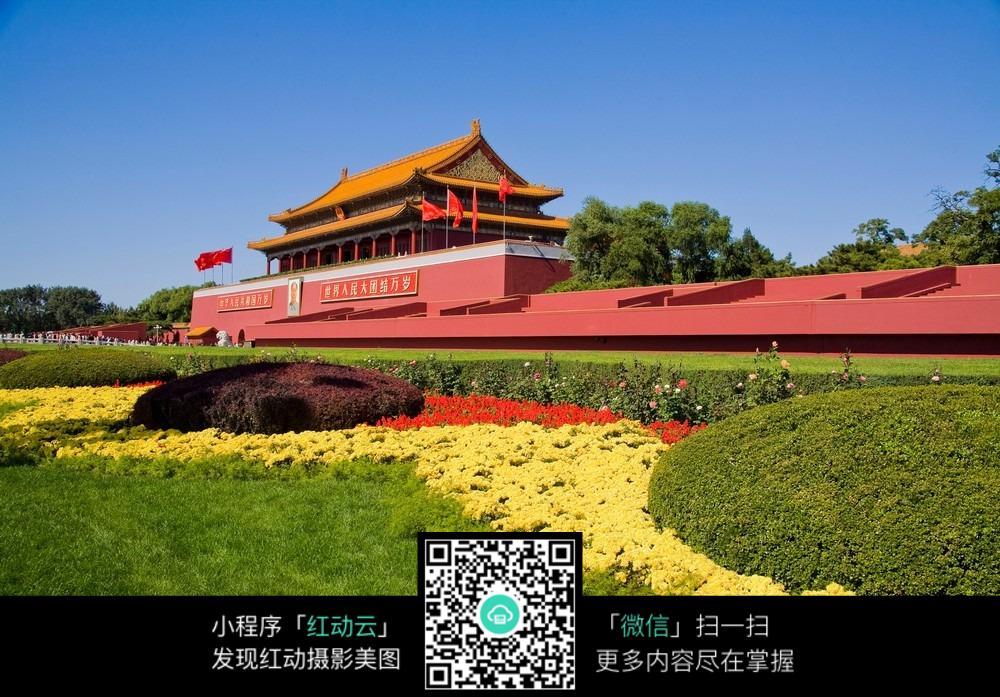 北京天安门高清摄影图图片免费下载(编号5188376)_红