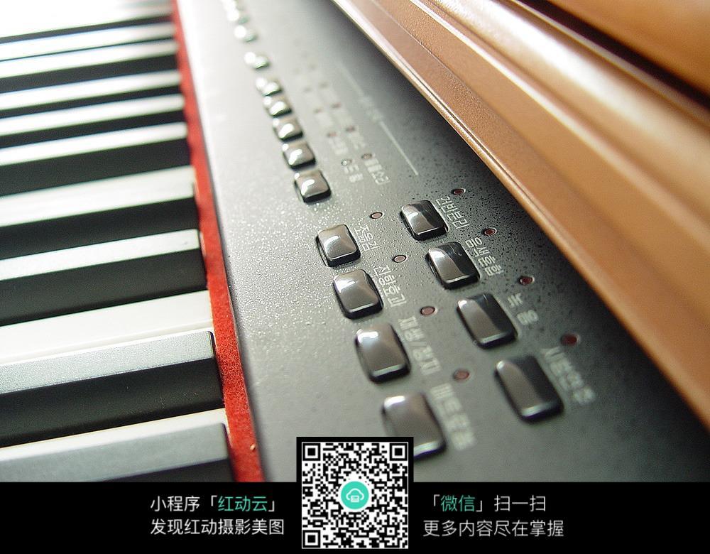 电子琴上的按键