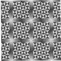 方形阴影拼花图案