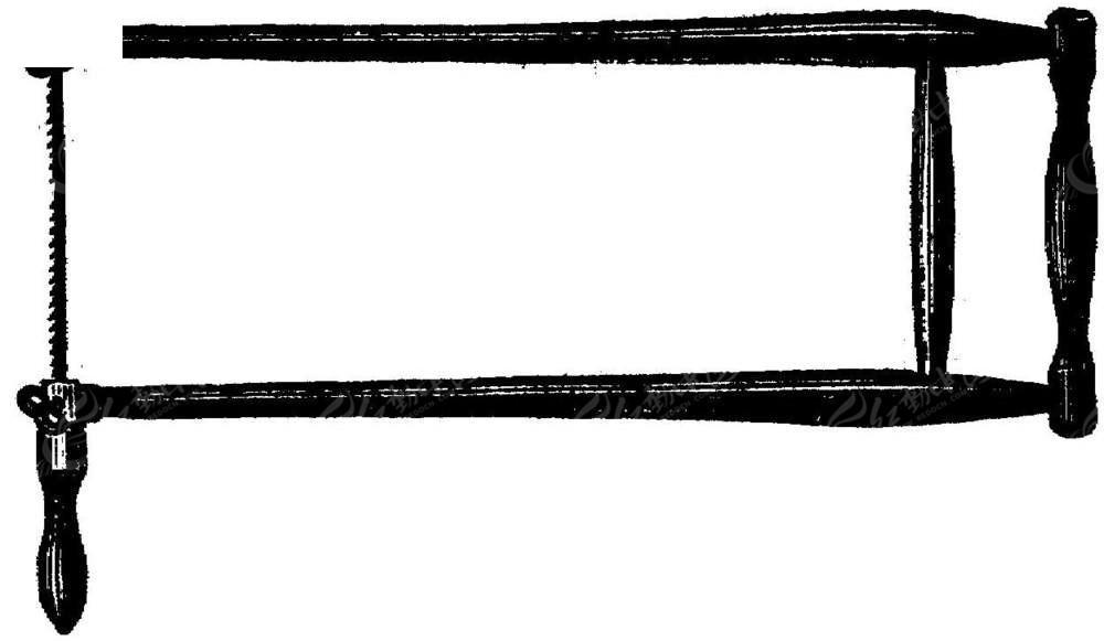 黑白锯子边框背景素材