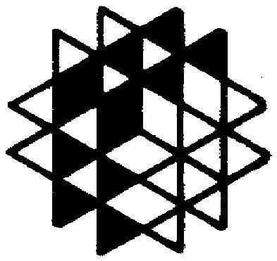 黑白三角形菱形组合图案图片
