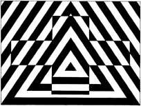 黑白重复构成设计