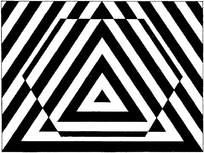 黑白重复构成素材