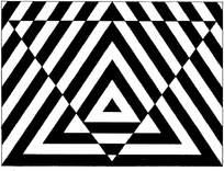 黑白重复构成图片