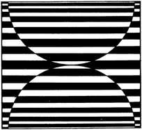 黑白重复平面构成