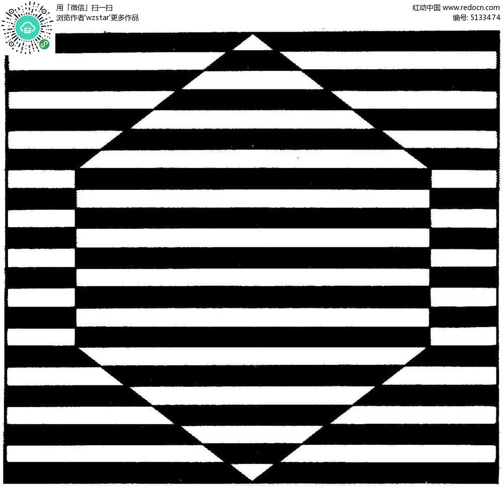 黑白装饰画tif免费下载图片