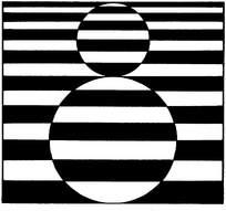 黑白装饰画素材