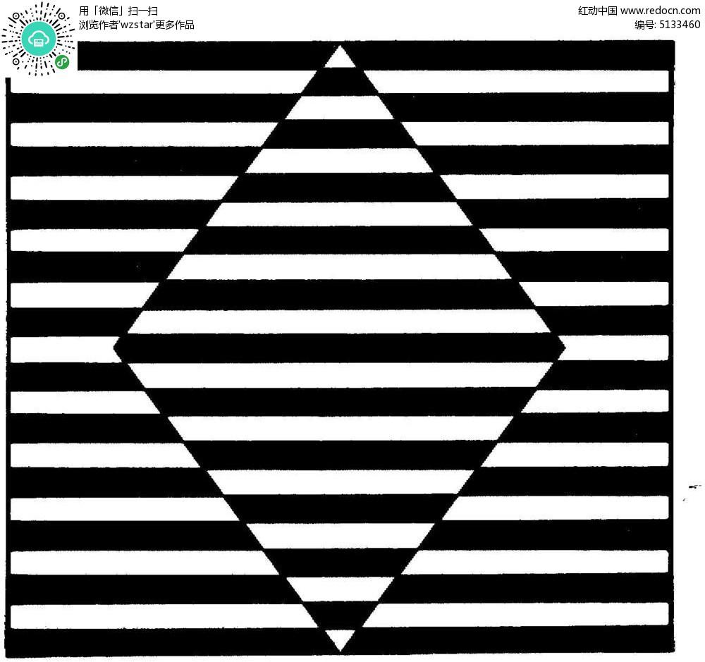 直线的平面构成设计图展示
