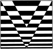 黑白装饰艺术画图片